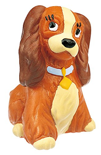 Bullyland Lady Action Figure (Lady And The Tramp Figurine Set)