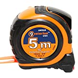 Centurion IMT519 Professional 16ft / 5m Tape Measure with Magnetic Metal Tip - Inch/Metric Scale Blade