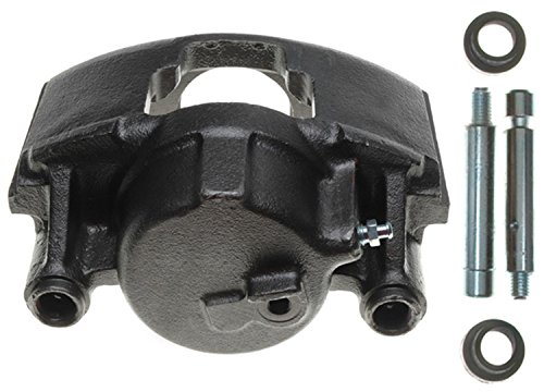 ACDelco 18FR742 Professional Front Driver Side Disc Brake Caliper Assembly without Pads (Friction Ready Non-Coated), -