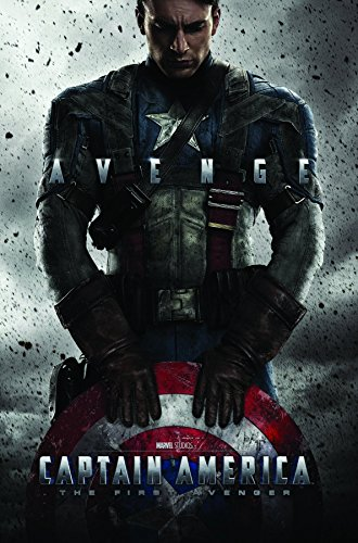 Captain America Poster (Trends International Captain America One Sheet Wall Poster 22.375