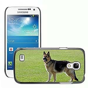 Hot Style Cell Phone PC Hard Case Cover // M00108089 Dog German Shepherd Alsatian Animal // Samsung Galaxy S4 Mini i9190