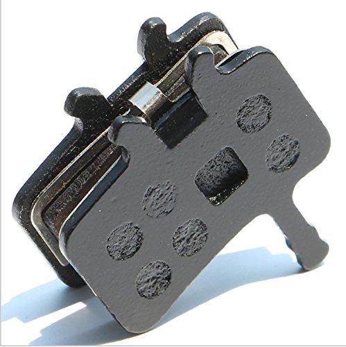 Resin Organic Semi-metal Brake Pads for AVID BB7 Juicy 3 5 7, Smooth Braking,Low Noise, Long Life, Kevlar, Copper, 2 Pairs by Juscycling (Image #5)