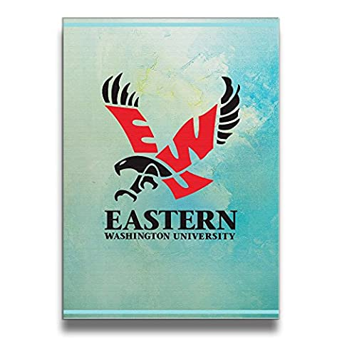 PHOEB Indoor Decorations - Eastern Washington University Frameless Art Frame For 16x20 Inch Photo - Displays Prints, Posters, Photos, Kids Work In Home, Office, (Evolution 16 Swiss Army Knife)