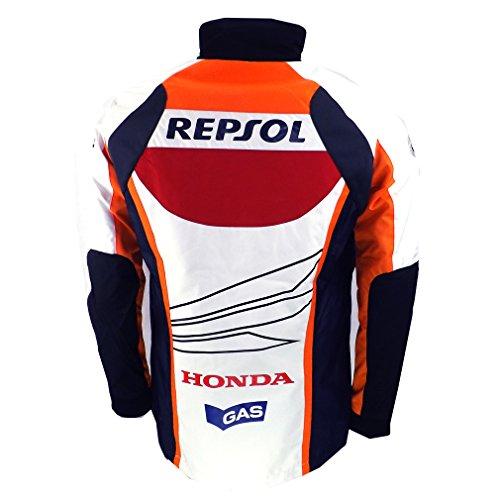 Oficial Honda Repsol Moto GP Team Gas Paddock chaqueta Márquez Pedrosa: Amazon.es: Deportes y aire libre