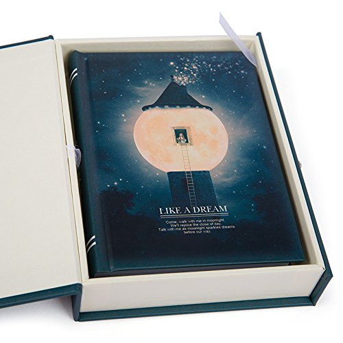 """Like a Dream"" Diary with Lock Notebook Cute Functional Planner Journal (Lighthouse) from Duckart"