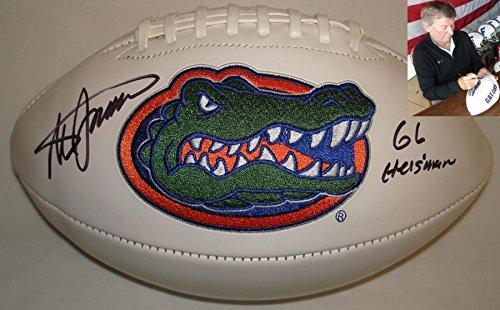 - Steve Spurrier Signed Autographed Florida Gators Logo Football - Certified - JSA Certified - Autographed College Footballs