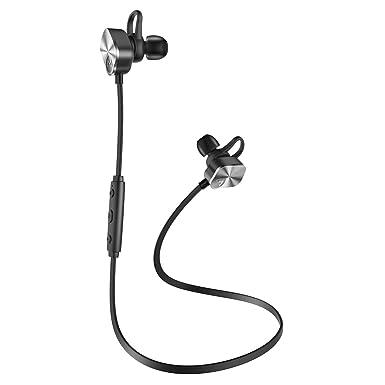 Mpow entrenador auriculares Bluetooth, auriculares inalámbricos deporte BT4.1 a prueba de sudor auriculares