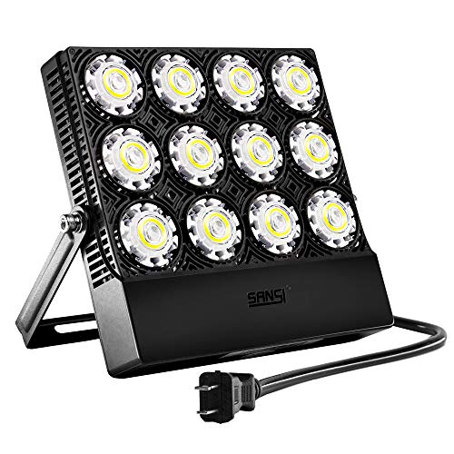 Outdoor Security Light With Plug in US - 6