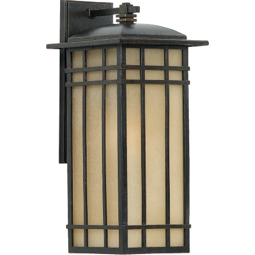 Quoizel HCE8409IB Hillcrest Outdoor Lantern Mission Wall Sconce, 1-Light, 150 Watts, Imperial Bronze (20