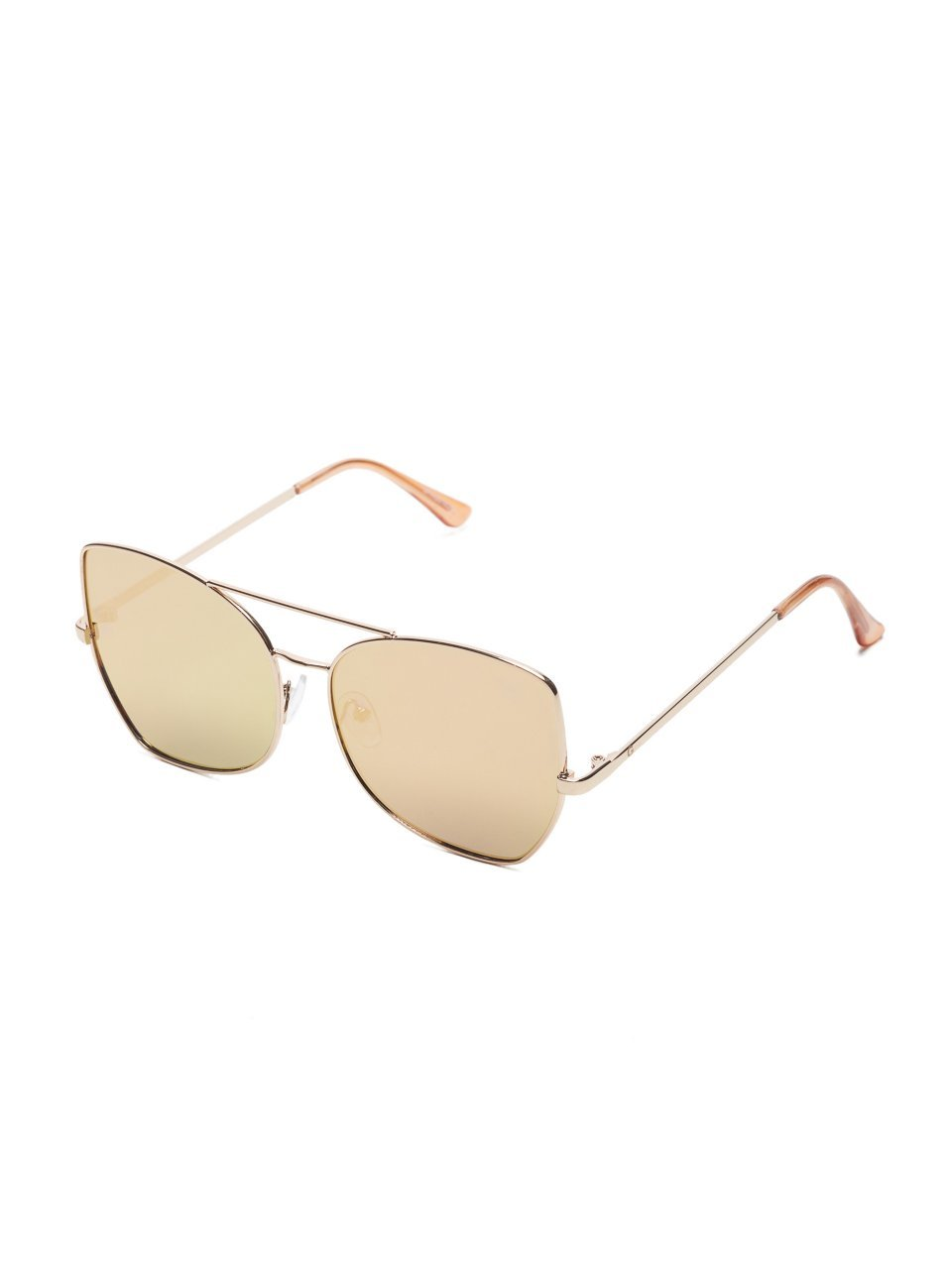G by GUESS Women's Mirrored Top Bar Sunglasses by G by GUESS (Image #1)