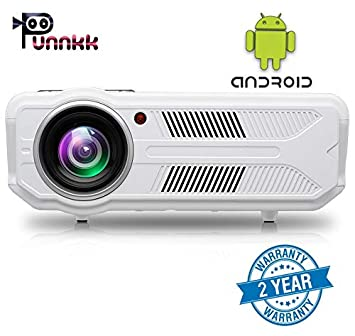 OOZE Punnkk P12A Android and WiFi 3500 Lumens LED Projector