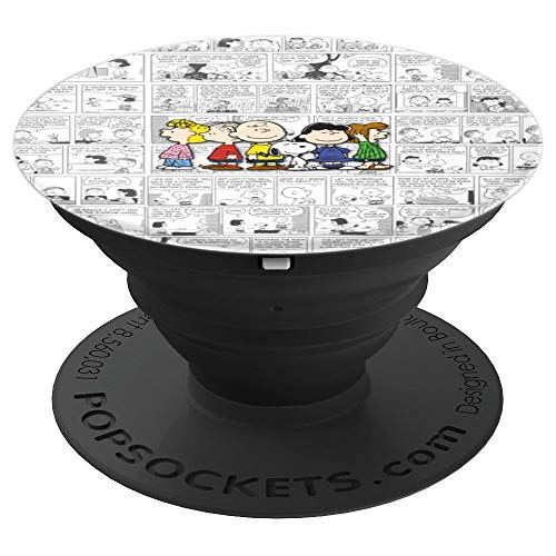 - Peanuts Gang Comic - PopSockets Grip and Stand for Phones and Tablets