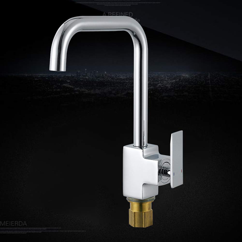 Kitchen Tap Copper Body Basin Single Cold Faucet Good Build Quality Kitchen Sink Mixer Tap Easy Cleaning and Easy Inssizetion
