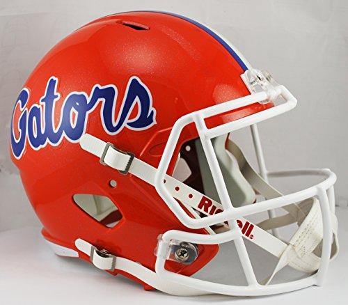 Florida Gators Riddell Full Size Speed Deluxe Replica Football Helmet - New in Riddell Box