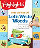 #8: Write-On Wipe-Off Let's Write Words (Highlights(TM) Write-On Wipe-Off Fun to Learn Activity Books)