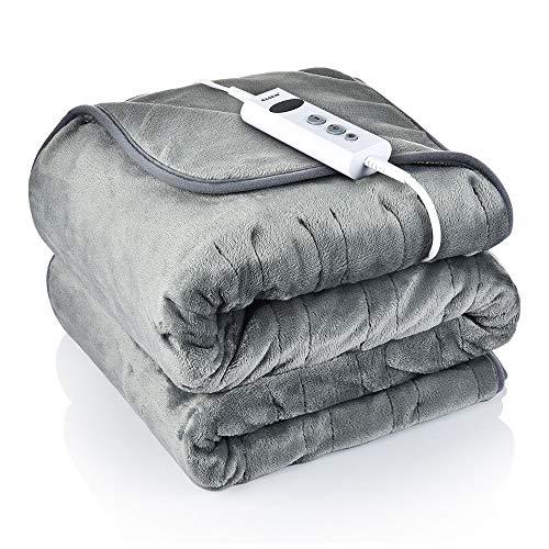 🥇 Manta eléctrica BASEIN con 10 niveles de temperatura ajustables