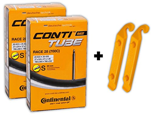 continental-race-28-700x20-25c-bicycle-inner-tube-bundle-80mm-xl-presta-pack-of-2-w-2-conti-tire-lev