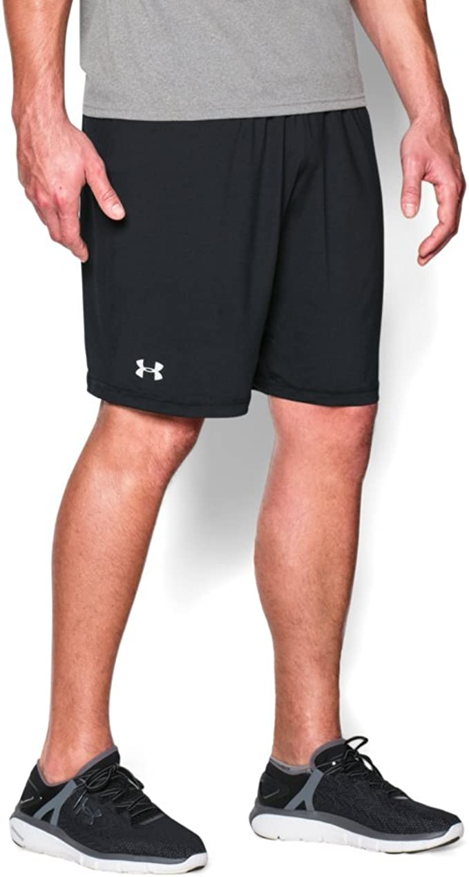 Duplicar Existe Ambigüedad  Amazon.com: Under Armour Team Raid Shorts, Black/White, Large: Clothing