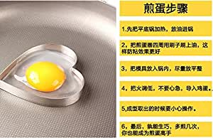 Thick stainless steel, fried eggs, pancakes fried egg mold, creative fried egg rings, model kits