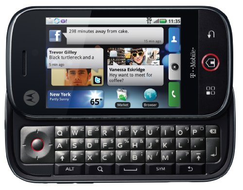- Motorola CLIQ (DEXT) MB200 / MB220 Unlocked GSM Phone with Android 1.5 OS, QWERTY Keyboard, 3.1