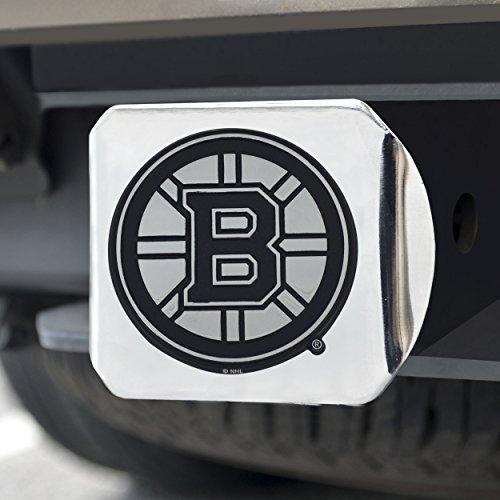 FANMATS 15143 NHL Boston Bruins Chrome Hitch Cover , 3.4