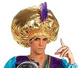 Forum Novelties Men's Giant Turban Costume Accessory, Gold, One Size