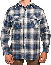 Guides Choice Pro Elite Mens Heavy Duty Flannel Shirt