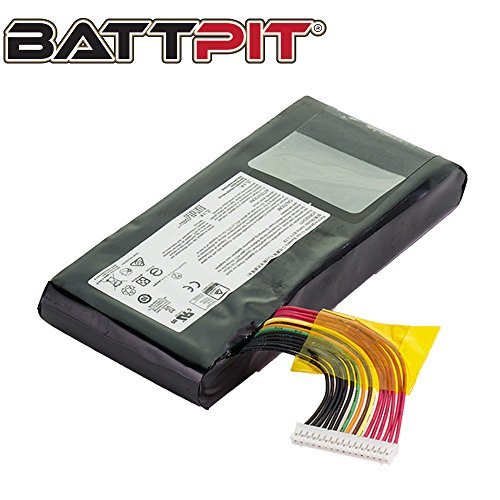BattPit trade; Laptop/Notebook Battery Replacement for MSI GT75VR 7RF-012 Titan Pro (5225mAh/75.24Wh)