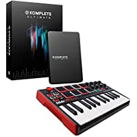 Native Instruments Komplete 11 Ultimate Software Suite . FREE Akai Professional MPK MINI MKII 25-Key.