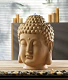 Garden Relaxation Fountain Indoor Outdoor Buddha Statues Sculpture Water Pump Feng Sui Ornament Decorative