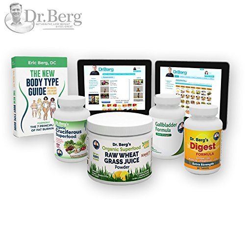Dr. Berg's Liver Body Type Kit – Rejuvenate Your Metabolism & Support Your Specific Body Type – by Dr. Berg For Sale
