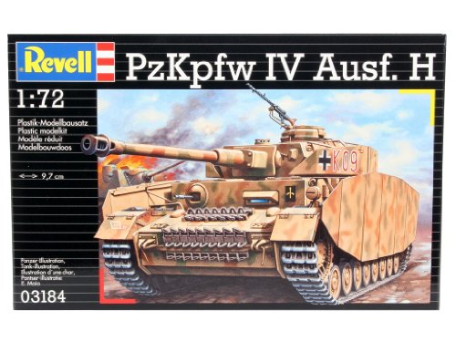 Revell of Germany Panzer IV Ausf. H Plastic Model Kit (Tank Iv Panzer German)