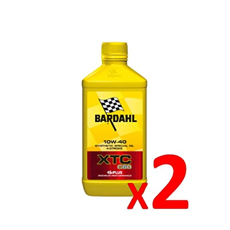 BARDAHL Aceite para Moto N150 10 W-40 Sintético de 4 Tiempos – 326140