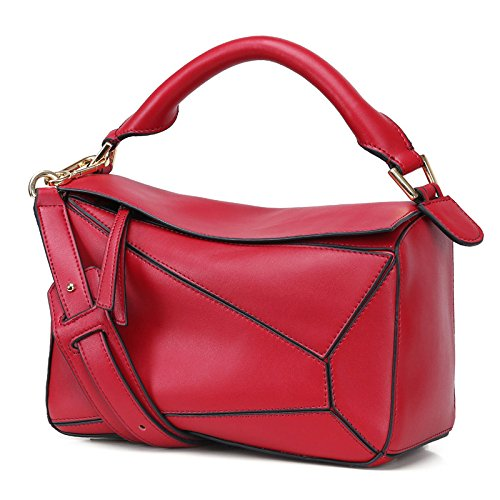 Femmes Casual Sac Bandoulière à Red Vintage Simple Ladies Main Sac Messenger Fashion Sacs Tote à OTwCqxOE8r
