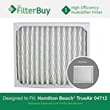 04712 Hamilton Beach True Air Replacement Air Purifier Filter. Designed by FilterBuy to Fit True Air Model # 04381.