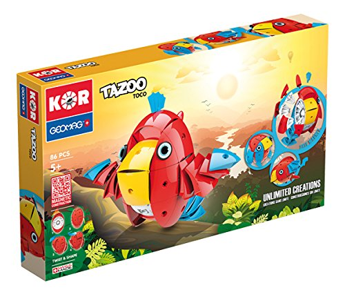 Geomag STEM KOR Tazoo Jelo Stacking Toy