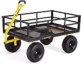 Gorilla Carts GOR1400-COM Heavy-Duty Steel