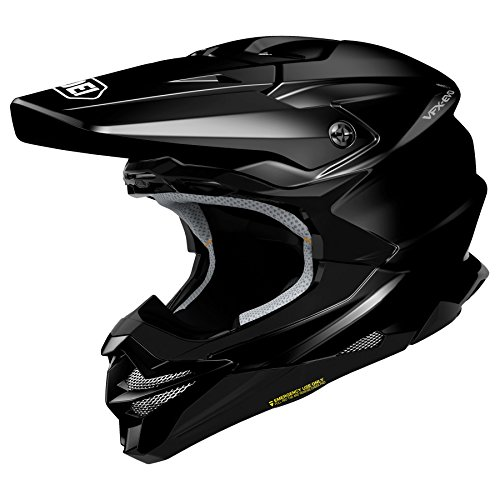 Shoei VFX-EVO Offroad Motorcycle Helmet Gloss Black Medium (More Color and Size Options)