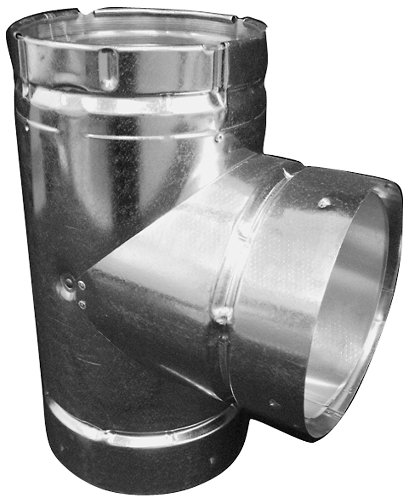 Speedi-Products BV-DWT 05 5-Inch B-Vent Double Wall Round Tee (Plumbing Vent Wall)