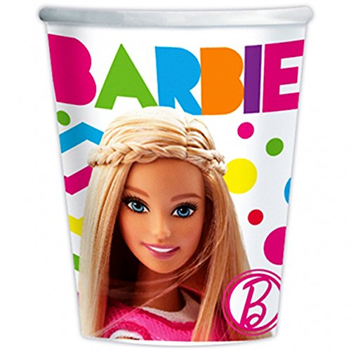 9oz Barbie Paper Cups, 8ct