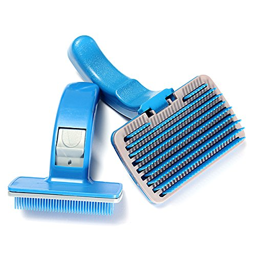 Coastal Cat Eye Glasses - Pet Dog Cat Hair Fur Shedding Trimmer Grooming Rake Comb Brush (S)
