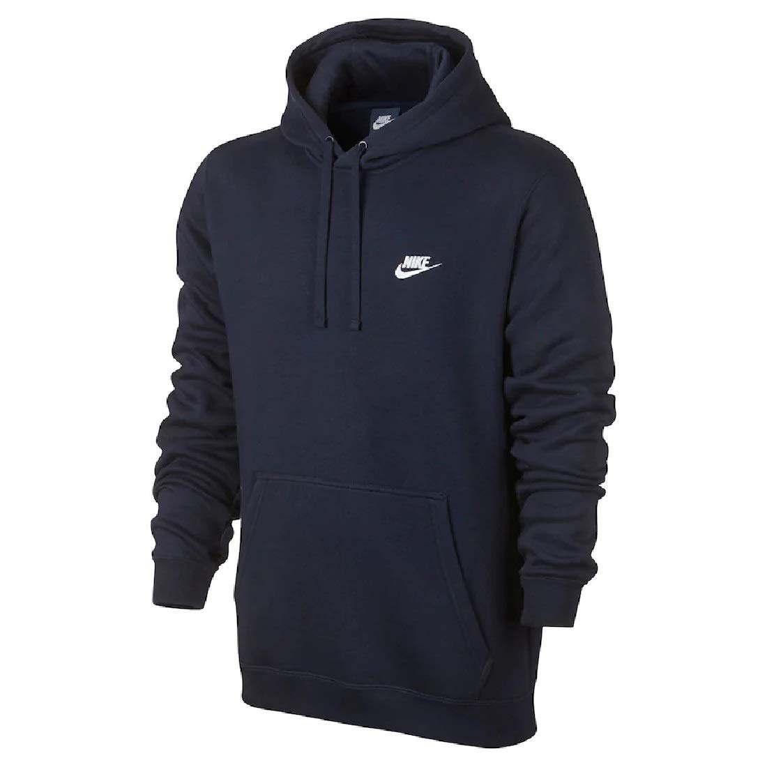 a266c49fc Amazon.com: Nike Men's Club Fleece Pullover Hoodie (Navy, XL): Sports &  Outdoors