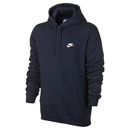 f5950654f Image Unavailable. Image not available for. Color: Nike Men's Club Fleece Pullover  Hoodie ...