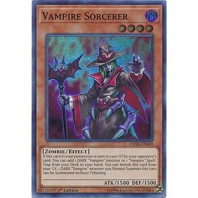 Vampire Sorcerer - DASA-EN049 - Super Rare - 1st Edition: Toys & Games