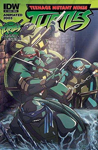 Amazon.com: Teenage Mutant Ninja Turtles: Animated 2003 #1 ...