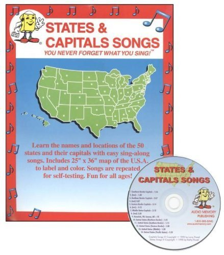 States and Capitals Songs by Larry Troxel (1990-01-01)