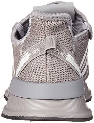 adidas Originals Men's U_Path Run Sneaker, Grey/Grey/Metal Grey, 9.5