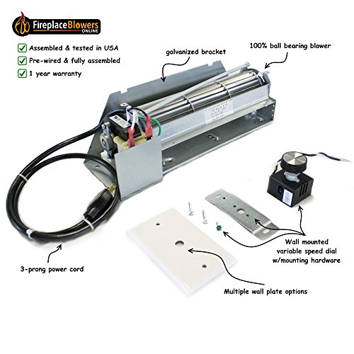 superior gas fireplace blower - 5
