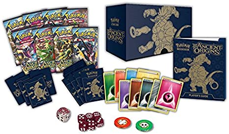 PoKéMoN XY7 Ancient Origins Elite - Caja de Entrenador: Amazon.es ...