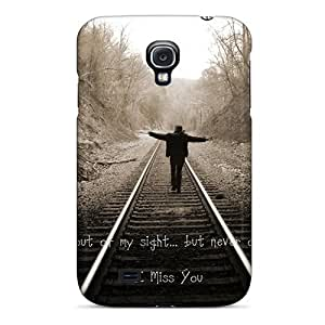 Flexible Tpu Back Case Cover For Galaxy S4 - I Miss You